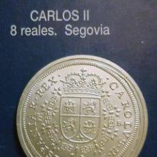 Reproducciones billetes y monedas: 8 REALES CARLOS II. Lote 213439633