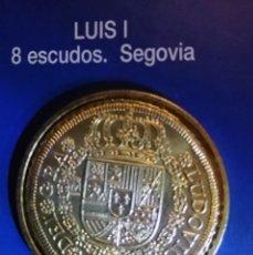 Reproducciones billetes y monedas: 8 ESCUDOS LUIS I-SEGOVIA. Lote 214602726