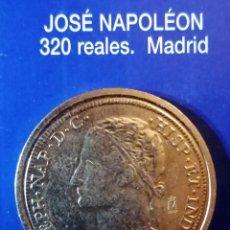 Reproductions billets et monnaies: 320 REALES -JOSE NAPOLEON-MADRID. Lote 214602860