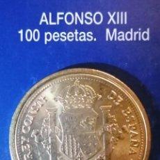 Reproducciones billetes y monedas: 100 PESETA ALFONSO XIII MADRID. Lote 214616168