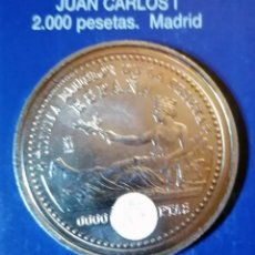 Reproducciones billetes y monedas: 2000 PESETAS JUAN CARLOS I MADRID. Lote 214616440