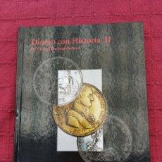 Reproducciones billetes y monedas: LIBRO COLECCION DINERO CON HISTORIA II DE CARLOS III A JUAN CARLOS I /ÁLBUM DE MONEDAS ESPAÑA. Lote 216672760
