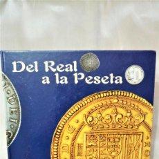 """Reproducciones billetes y monedas: COLECCIÓN DE MONEDAS """"DEL REAL A LA PESETA"""" EL PAÍS. Lote 216918061"""