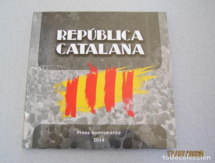 CARTERA (PRUEBA) CATALUÑA 2014 .. (Numismática - Reproducciones)