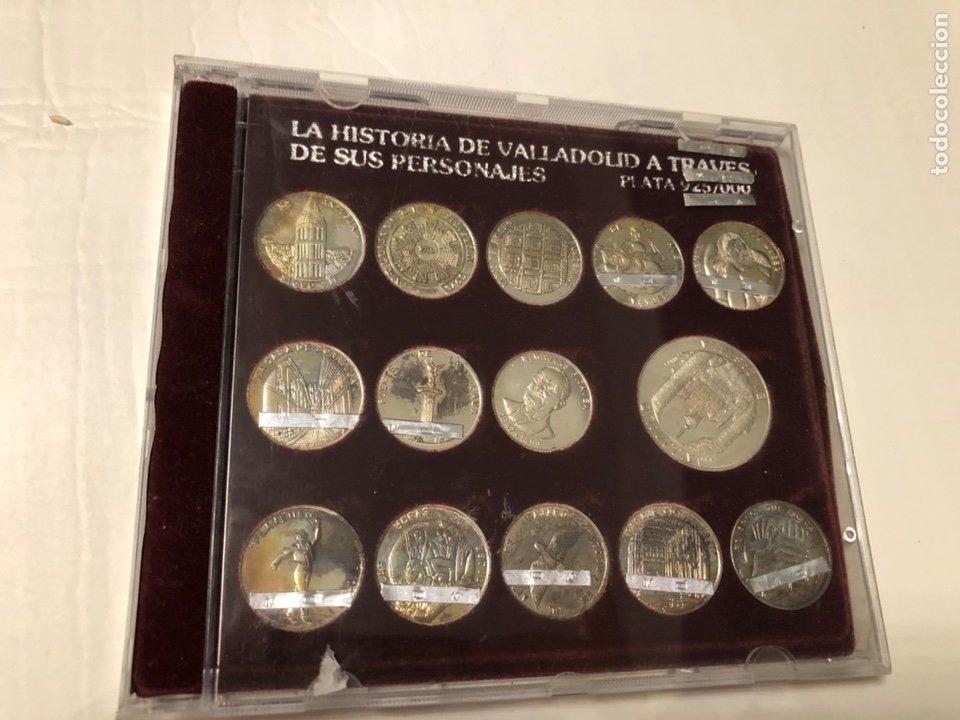 LOTE MONEDAS PLATA. 59 GRAMOS LEY 925 (Numismática - Reproducciones)