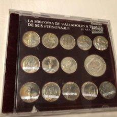 Reproducciones billetes y monedas: LOTE MONEDAS PLATA. 59 GRAMOS LEY 925. Lote 217590493