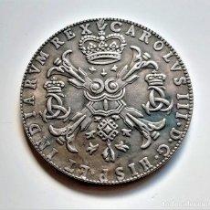 Reproducciones billetes y monedas: 1710 ESPAÑOL PAÍSES BAJOS (BRABANT) 48 SOLES/1 PATAGON-CARLOS III (ARCHDUKE) - 23.99.GR 40.MM DIAMTR. Lote 257844450