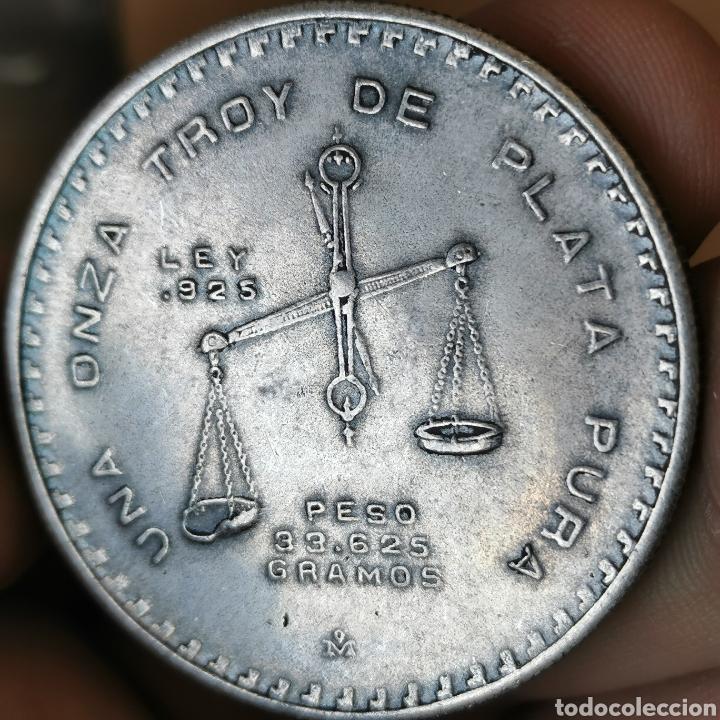 ⚜️ REPRODUCCIÓN. MÉXICO. 1 ONZA TROY 1979 (Numismática - Reproducciones)