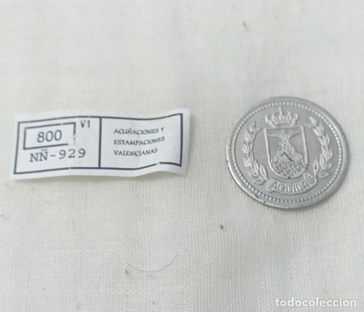 Reproducciones billetes y monedas: 4 MONEDAS ACUÑACIONES VALENCIANAS DE MURCIA. - Foto 2 - 217959336