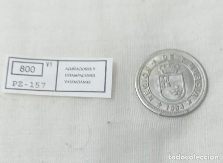 Reproducciones billetes y monedas: 4 MONEDAS ACUÑACIONES VALENCIANAS DE MURCIA. - Foto 6 - 217959336