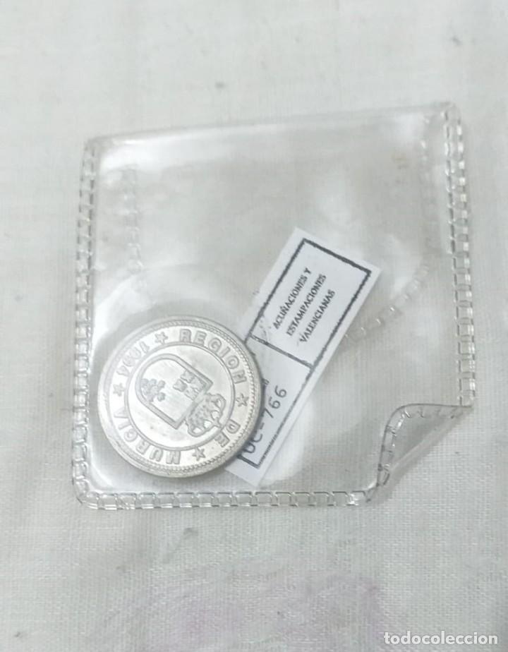 Reproducciones billetes y monedas: 4 MONEDAS ACUÑACIONES VALENCIANAS DE MURCIA. - Foto 10 - 217959336