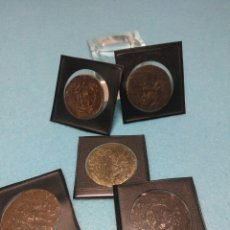Reproductions billets et monnaies: MONEDAS MEDIVALES REPRODUCCIONES HECHAS EN PLATA. Lote 218084746