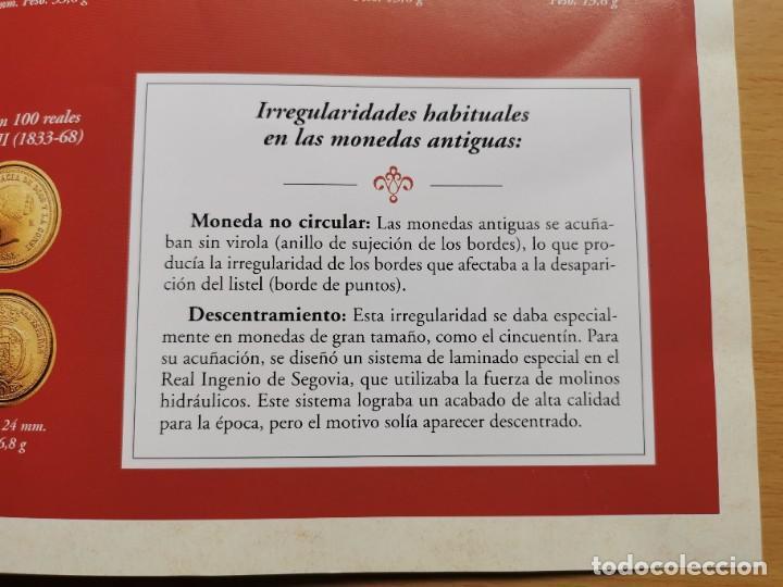 Reproducciones billetes y monedas: LA HISTORIA DE LA MONEDA ESPAÑOLA 17 MONEDAS DE PLATA Y ORO EMISIÓN ESPECIAL CONMEMORATIVA FNMT - Foto 20 - 218581483