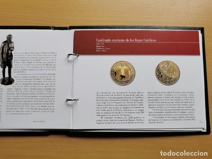 Reproducciones billetes y monedas: LA HISTORIA DE LA MONEDA ESPAÑOLA 17 MONEDAS DE PLATA Y ORO EMISIÓN ESPECIAL CONMEMORATIVA FNMT - Foto 22 - 218581483
