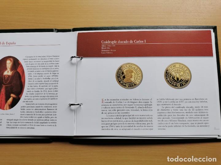 Reproducciones billetes y monedas: LA HISTORIA DE LA MONEDA ESPAÑOLA 17 MONEDAS DE PLATA Y ORO EMISIÓN ESPECIAL CONMEMORATIVA FNMT - Foto 23 - 218581483