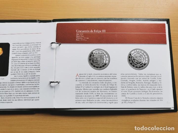Reproducciones billetes y monedas: LA HISTORIA DE LA MONEDA ESPAÑOLA 17 MONEDAS DE PLATA Y ORO EMISIÓN ESPECIAL CONMEMORATIVA FNMT - Foto 24 - 218581483