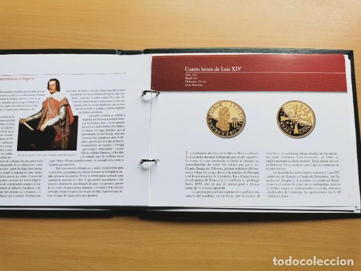 Reproducciones billetes y monedas: LA HISTORIA DE LA MONEDA ESPAÑOLA 17 MONEDAS DE PLATA Y ORO EMISIÓN ESPECIAL CONMEMORATIVA FNMT - Foto 25 - 218581483