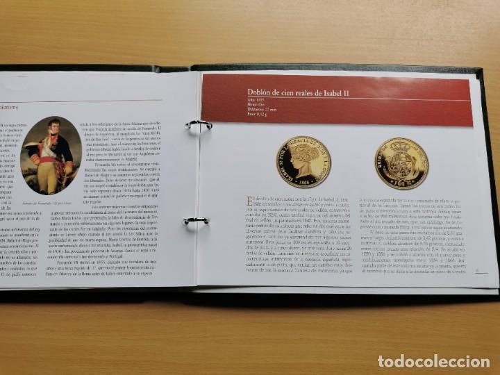 Reproducciones billetes y monedas: LA HISTORIA DE LA MONEDA ESPAÑOLA 17 MONEDAS DE PLATA Y ORO EMISIÓN ESPECIAL CONMEMORATIVA FNMT - Foto 26 - 218581483