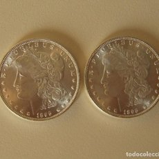 Reproducciones billetes y monedas: DOLAR USA 1895 DE DOS CARAS IGUALES CON LA LIBERTAD. Lote 218954180