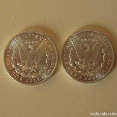 Reproducciones billetes y monedas: DOLAR USA DE DOS CARAS IGUALES CON EL AGUILA. Lote 219149235
