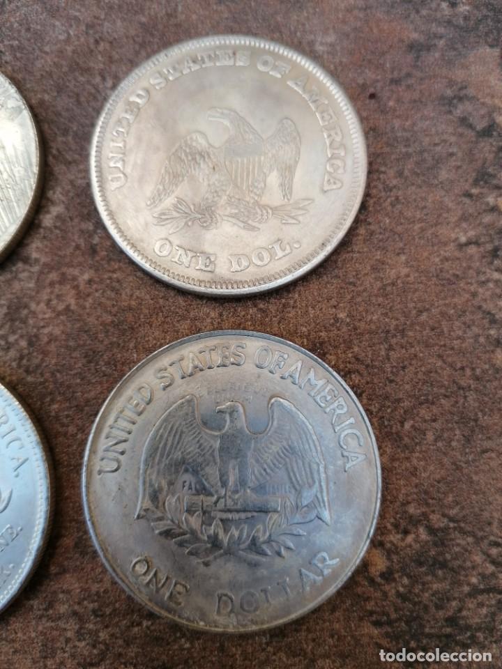 Reproducciones billetes y monedas: UN DOLAR USA 1878 - Foto 7 - 54455700