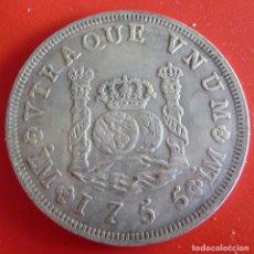 Reproductions billets et monnaies: MONEDA ESPAÑOLA FERNANDO VI 1755 REPLICA. Lote 220903612