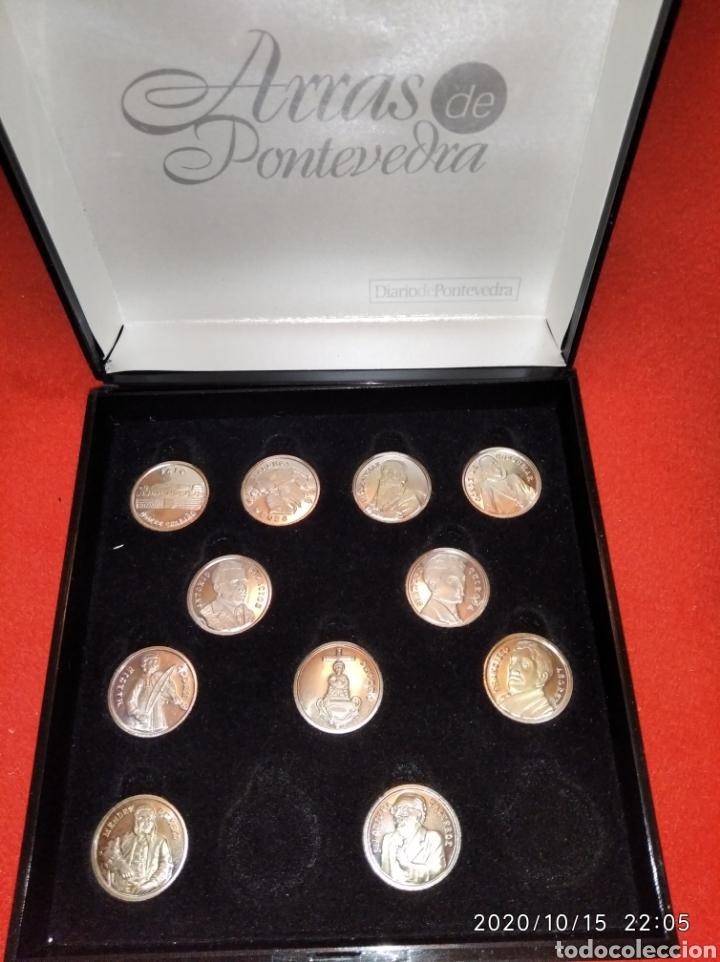 Reproducciones billetes y monedas: Las arras de Pontevedra en plata . - Foto 2 - 221164157