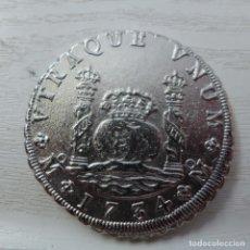 Reproducciones billetes y monedas: MONEDA 8 REALES DE FELIPE V 1734. Lote 221620058
