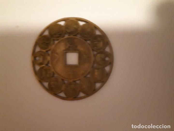 Reproducciones billetes y monedas: 67-LOTE DE MONEDAS Y LINGOTE DE CINABRIO - Foto 6 - 221836888