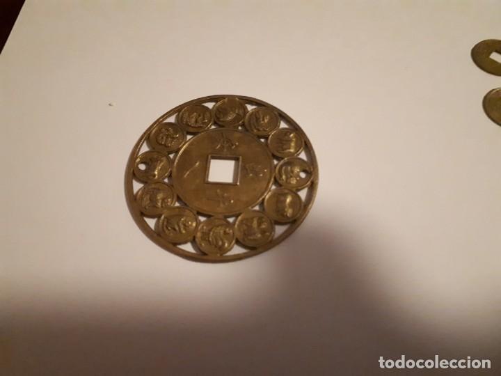 Reproducciones billetes y monedas: 67-LOTE DE MONEDAS Y LINGOTE DE CINABRIO - Foto 7 - 221836888