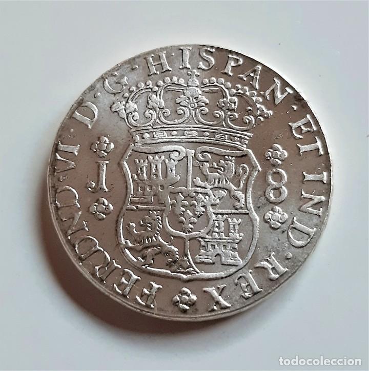 1753 MONEDA 8 REALES FERNANDO VI. CECA MEXICO - 38.MM DIAMETRO - 27.20.GRAMOS (Numismática - Reproducciones)