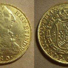 Reproduções notas e moedas: REPRODUCCION MONEDA DE CARLOS III 1 ONZA. Lote 223857945