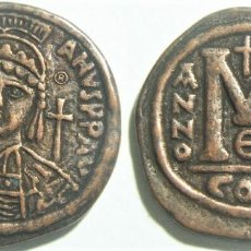 Reproduções notas e moedas: REPRODUCCIÓN DE UN FOLLIS DE JUSTINIANO I 539 DJC 35 MM. Lote 263816475