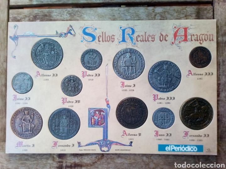 REPRODUCCIÓN DE MONEDAS REYES DE ARAGON (Numismática - Reproducciones)
