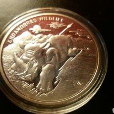 Reproduções notas e moedas: 1 ONZA PLATA REPÚBLICA DEL CONGO 10 FRANC 2007. Lote 226632240