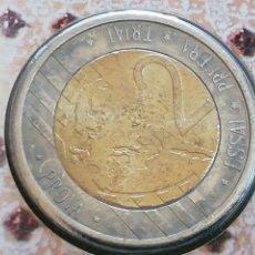 Reproducciones billetes y monedas: DE 2 EUROS EN PRUEBA DE CATALUÑA.SIN CIRCULAR. Lote 229324815