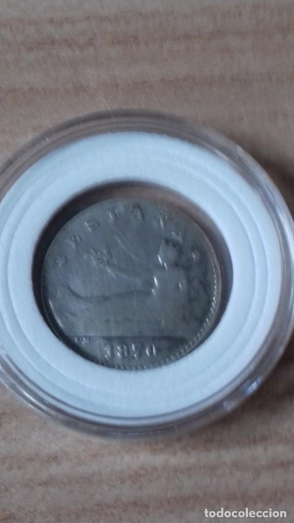 50 CENTIMOS DEL GOBIERNO PROVISIONAL, CONVERTIDA EN ARRAS (Numismática - Reproducciones)