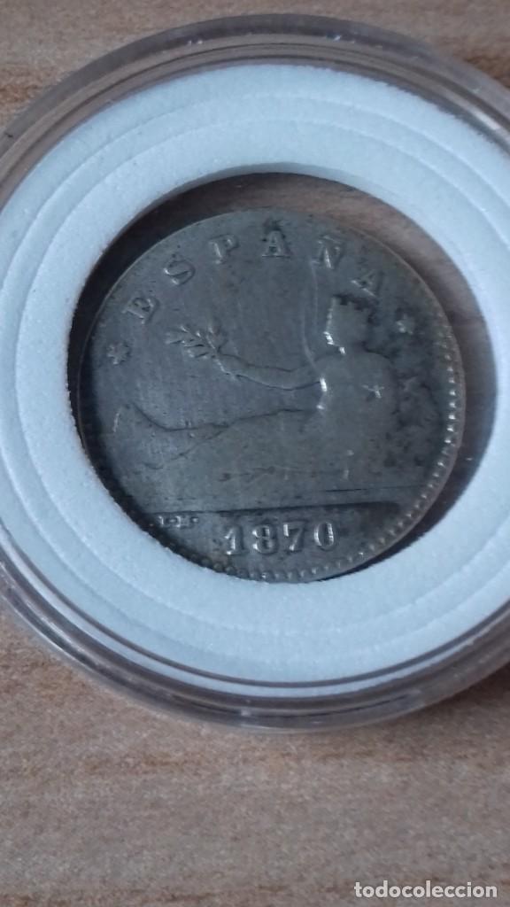 Reproducciones billetes y monedas: 50 Centimos del Gobierno provisional, convertida en ARRAS - Foto 8 - 231323695