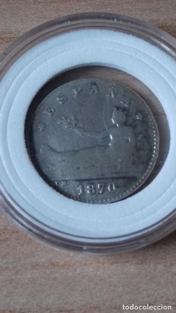 Reproducciones billetes y monedas: 50 Centimos del Gobierno provisional, convertida en ARRAS - Foto 10 - 231323695