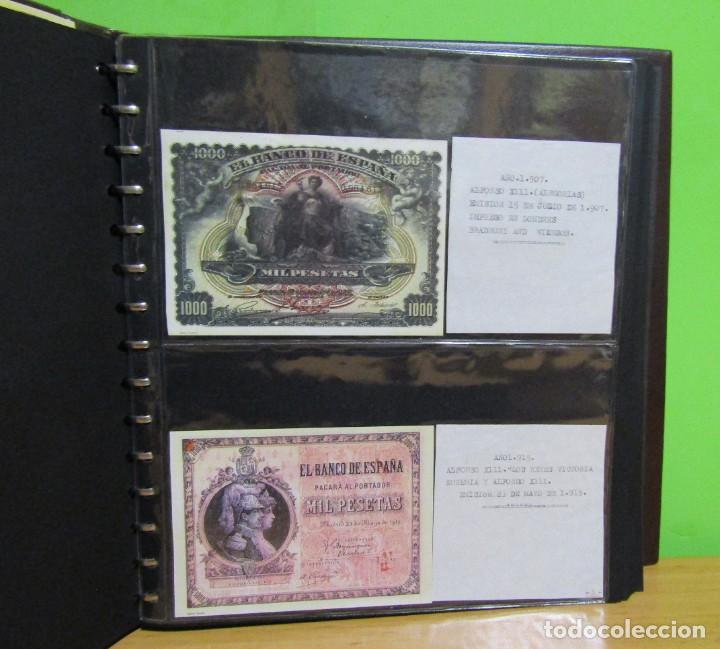 Reproducciones billetes y monedas: ALBUM CON 120 BILLETES EDICION FACSIMIL BILLETES DE 1871 A 1971 EXCELENTE PRESENTACION VER IMAGENES - Foto 9 - 231751065