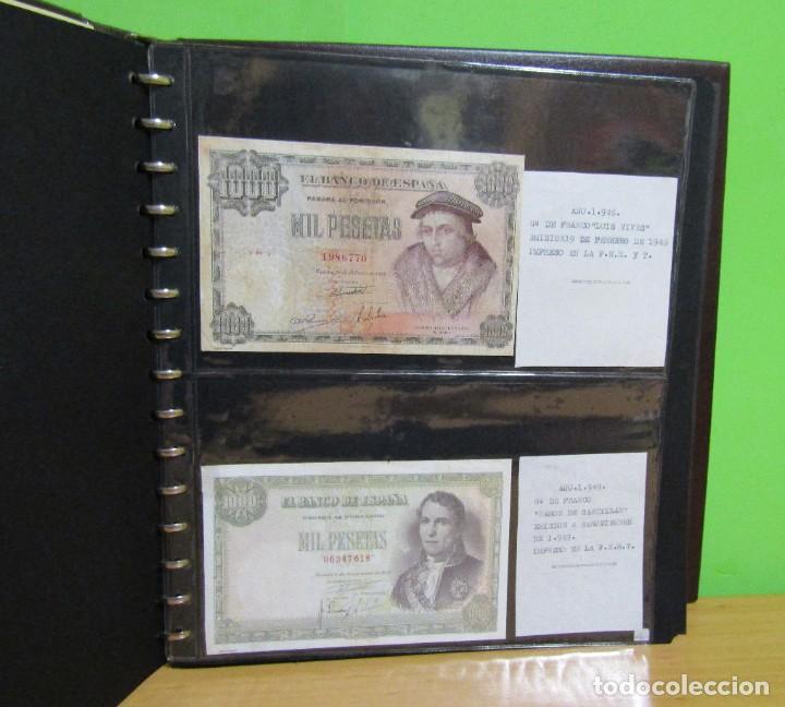 Reproducciones billetes y monedas: ALBUM CON 120 BILLETES EDICION FACSIMIL BILLETES DE 1871 A 1971 EXCELENTE PRESENTACION VER IMAGENES - Foto 10 - 231751065