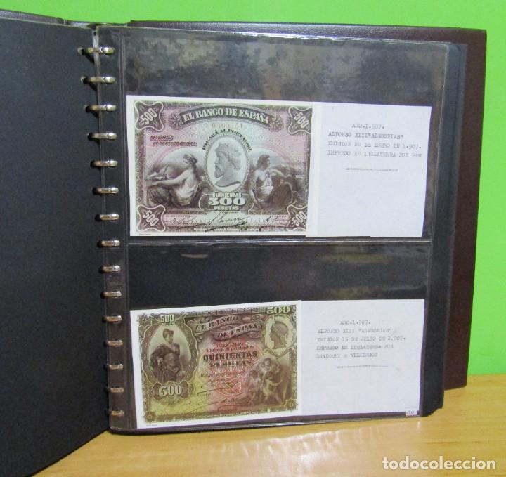 Reproducciones billetes y monedas: ALBUM CON 120 BILLETES EDICION FACSIMIL BILLETES DE 1871 A 1971 EXCELENTE PRESENTACION VER IMAGENES - Foto 12 - 231751065