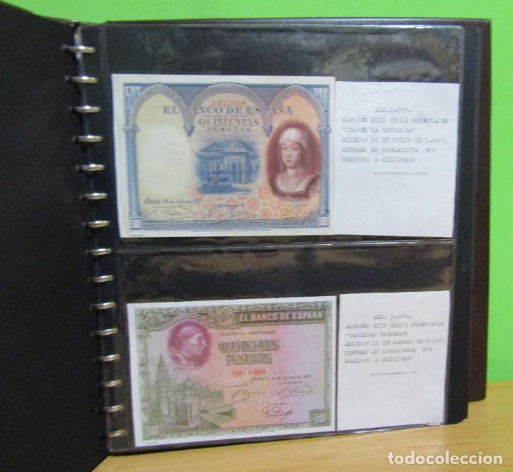 Reproducciones billetes y monedas: ALBUM CON 120 BILLETES EDICION FACSIMIL BILLETES DE 1871 A 1971 EXCELENTE PRESENTACION VER IMAGENES - Foto 13 - 231751065