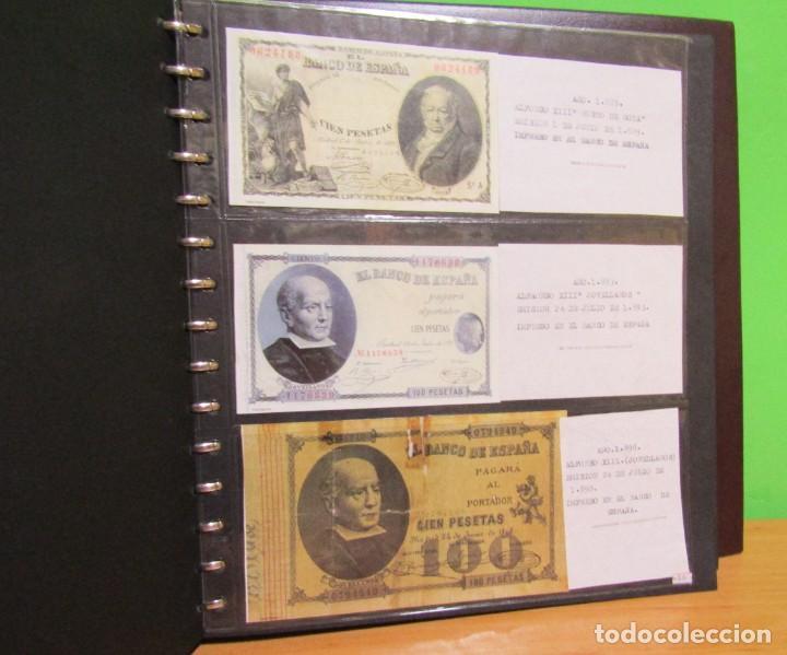 Reproducciones billetes y monedas: ALBUM CON 120 BILLETES EDICION FACSIMIL BILLETES DE 1871 A 1971 EXCELENTE PRESENTACION VER IMAGENES - Foto 17 - 231751065