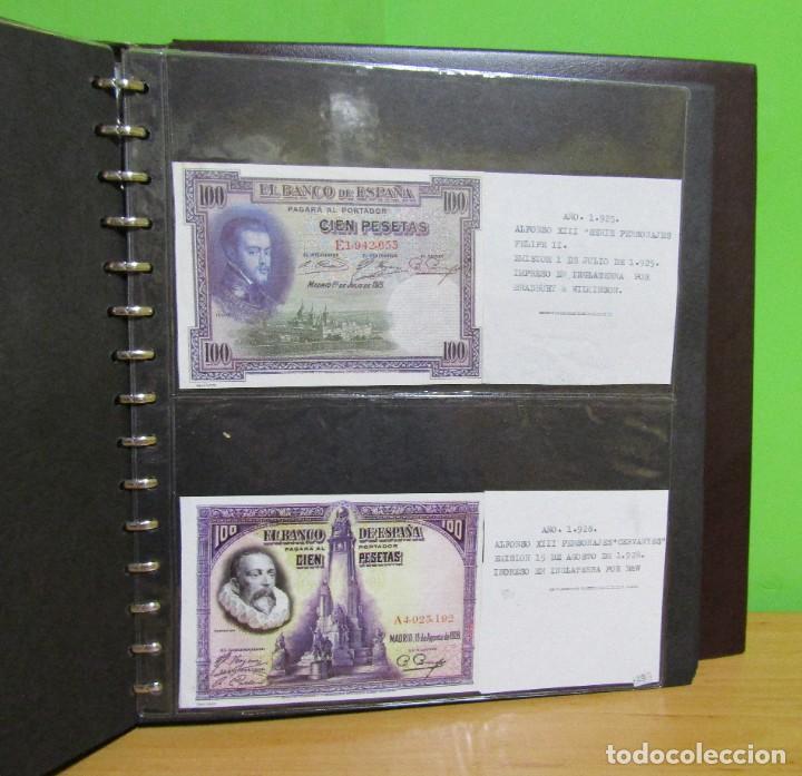 Reproducciones billetes y monedas: ALBUM CON 120 BILLETES EDICION FACSIMIL BILLETES DE 1871 A 1971 EXCELENTE PRESENTACION VER IMAGENES - Foto 20 - 231751065