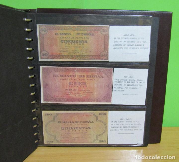 Reproducciones billetes y monedas: ALBUM CON 120 BILLETES EDICION FACSIMIL BILLETES DE 1871 A 1971 EXCELENTE PRESENTACION VER IMAGENES - Foto 30 - 231751065