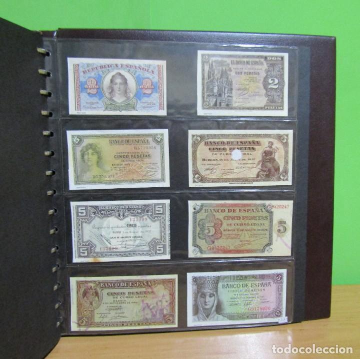 Reproducciones billetes y monedas: ALBUM CON 120 BILLETES EDICION FACSIMIL BILLETES DE 1871 A 1971 EXCELENTE PRESENTACION VER IMAGENES - Foto 34 - 231751065