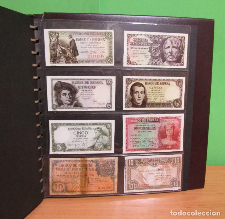Reproducciones billetes y monedas: ALBUM CON 120 BILLETES EDICION FACSIMIL BILLETES DE 1871 A 1971 EXCELENTE PRESENTACION VER IMAGENES - Foto 35 - 231751065