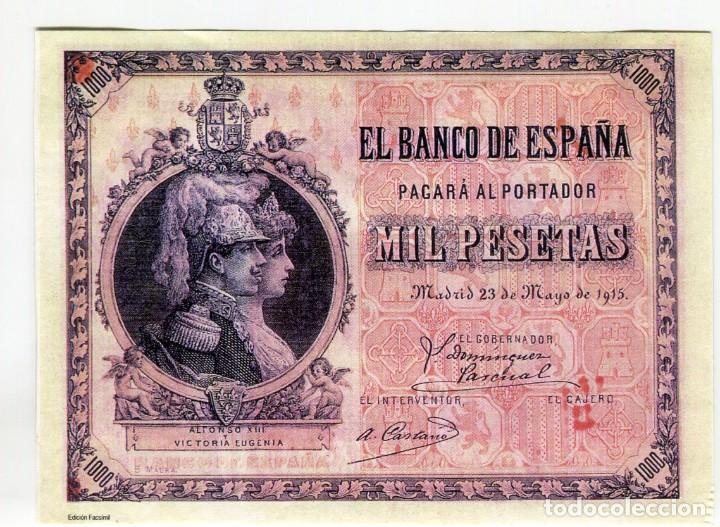 Reproducciones billetes y monedas: ALBUM CON 120 BILLETES EDICION FACSIMIL BILLETES DE 1871 A 1971 EXCELENTE PRESENTACION VER IMAGENES - Foto 4 - 231751065