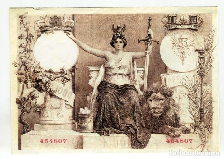 Reproducciones billetes y monedas: ALBUM CON 120 BILLETES EDICION FACSIMIL BILLETES DE 1871 A 1971 EXCELENTE PRESENTACION VER IMAGENES - Foto 6 - 231751065